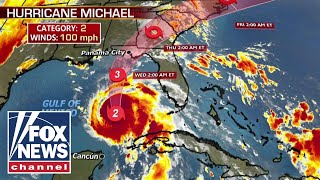 Download Hurricane Michael strengthens to category 2 Video