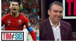Download Sid reacts to Ronaldo's legendary performance against Spain Video