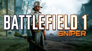 Download Battlefield 1: Sniper Support - 39 Killstreak! (PS4 PRO Multiplayer Gameplay) Video
