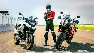 Download BMW R1250GS vs. KTM 1290 Super Adventure S. Which One is Faster? Video