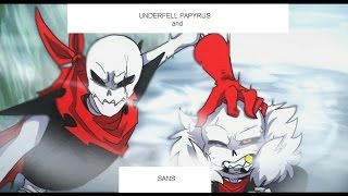 Download UnderFell Sans and Papyrus Song - *Rap by JT Machinima* ″To The Bone''(UF-version By:Baterka) Video
