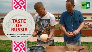 Download Is this a yolk? Ostrich omelettes & peculiar pastries - Taste of Russia Ep. 16 Video