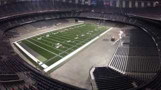 Download New Orleans Saints turf installation. Video