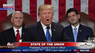 Download FULL SOTU: President Donald Trump's first State of the Union (FNN) Video