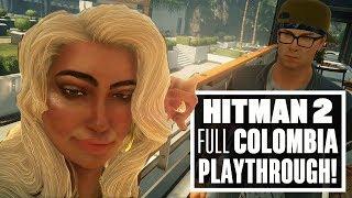 Download Hitman 2 - New Full Colombia Level Walkthrough (Tattoo Artist Assassination) Video