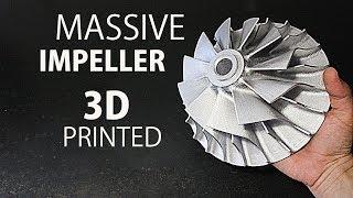 Download Making A Huge Impeller - CR 10 3D Printer Video