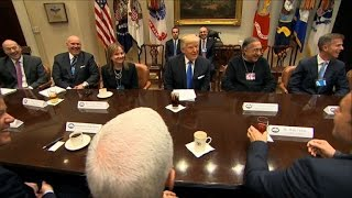 Download Trump hosts US carmakers CEOs at the White House Video