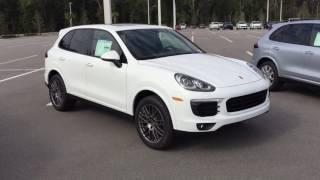 Download 2017 Porsche Cayenne Platinum Edition and 2017 Porsche Cayenne Hybrid at Porsche of Ocala Video