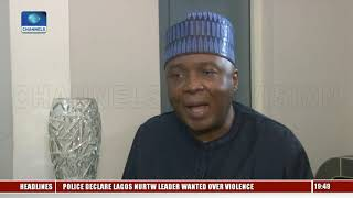 Download The Government Of Buhari Is Corrupt, Saraki Alleges Pt.2 Video