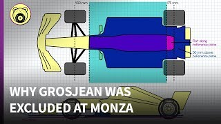 Download Why Grosjean's car was illegal at Monza - Chainbear explains Video