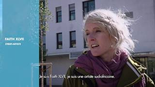 Download Street art à l'hôpital de la Croix-Rousse - HCL : rencontre avec Faith47 Video