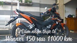 Download Cảm nhận thực tế Winner 150 sau 11.000 km | MinC Motovlog Video