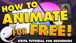 Download How To Animate in Krita for Beginners - FREE ANIMATION SOFTWARE! Video