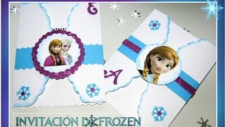 Download Invitación de Frozen Video
