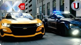 Download Transformers 5 The Last Knight Bumblebee vs Barricade Bluray (FULL HD) Video