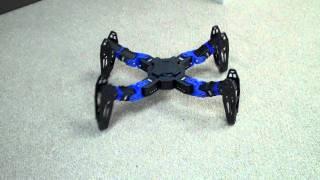 Download PhantomX Quadruped Prototype Video