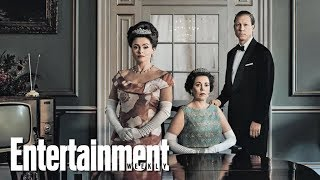 Download 'The Crown's Olivia Colman, Tobias Menzies & More On New Season | Cover Shoot | Entertainment Weekly Video