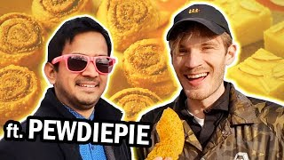 Download INDIAN SNACKS REVIEW 👏 with PewDiePie 👏 Video