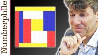 Download Mondrian Puzzle - Numberphile Video