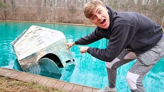 Download METAL BOX FORT ON WATER!! (SINK OR FLOAT?) Video