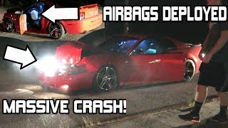 Download HUGE MUSTANG GT CRASH AT MUSTANG WEEK 2017! *HIT 2 CARS* (Mustang Pullouts & Burnouts) Video