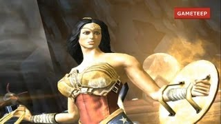 Download Injustice: Gods Among Us - Wonder Woman Super Attack & Moves [iPad] [REMASTERED] Video