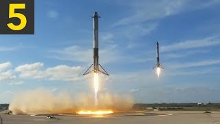 Download Top 5 Amazing SpaceX Landings Video