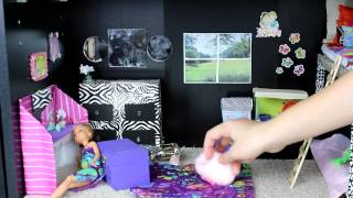 Download Custom Barbie House with Homemade Toys Video
