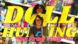 Download The Frog Vlog: DOLL HUNTING with Froggy | Wild Hearts Crew | Boxy Girls | Barbie Nat Geo & more Video
