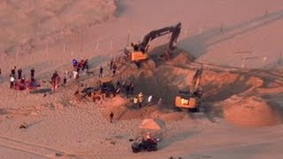 Download Sand Dune Dramatic Rescue: 6-Year-Old Boy Saved After Being Trapped for 3 Hours Video
