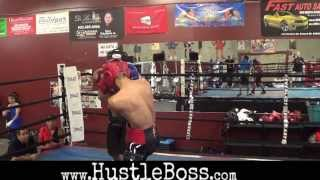Download Heated sparring between Saul Rodriguez and Juan Funez as Brandon Rios and others watch on Video
