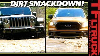 Download Can the New Ford Ranger Keep Up with the New Jeep Gladiator Off-Road? The Results Are Surprising! Video
