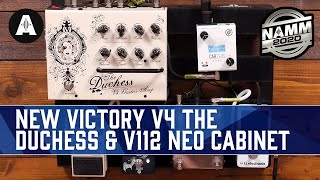 Download The Ultimate Travel Size Amplifier! - Victory V4 The Duchess + New V112 Neo Cabinet - NAMM 2020 Video