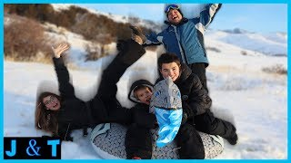 Download Last To Leave Snow Tube Challenge / Jake and Ty Video
