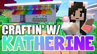 Download 💙 Minecraft CANDY SHOP! Craftin' w/ Katherine Ep. 13 Video