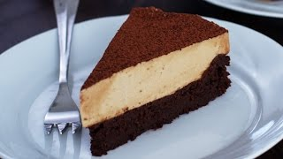 Download Flourless Chocolate Cake with Coffee Mousse Recipe Video
