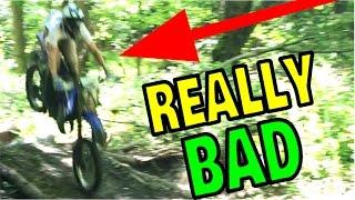 Download MOST SKETCHY DIRT BIKE JUMP EVER!! Video