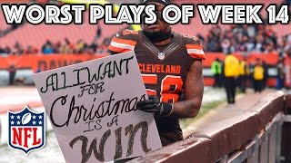 Download Worst Plays | NFL Week 14 Highlights Video