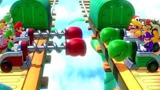Download Super Mario Party - All Survival Minigames Video