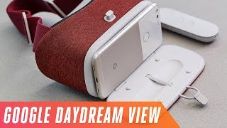 Download First look at Google's Daydream View VR headset Video
