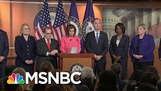 Download New Incriminating Evidence Against President As House Votes To Send Articles | Deadline | MSNBC Video