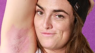 Download Women Dye Their Armpit Hair For The First Time Video