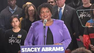 Download Abrams says she will sue over Georgia election Video