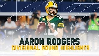 Download Aaron Rodgers Goes for 356 Yards & 2 TDs | Packers vs. Cowboys | NFL Divisional Player Highlights Video
