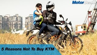 Download 5 Reasons Not To Buy A KTM | MotorBeam Video