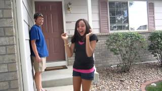 Download Surprising our 16 year old daughter with her dream car....... a blue Volkswagen Beetle. Video