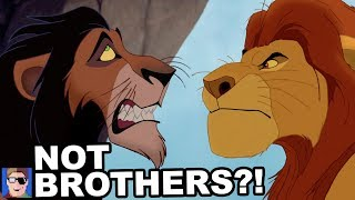 Download Mufasa And Scar Aren't Brothers?! Video