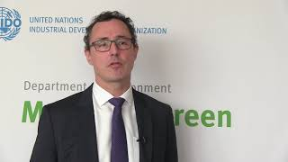 Download UNIDO's Stephan Sicars on circular economy in the automotive industry Video