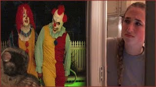 Download Scary Killer Clown Stalkers Chase Caught on Camera - Creepy Night Walk Video