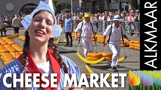Download The cheese market at Alkmaar - Holland Holiday Video